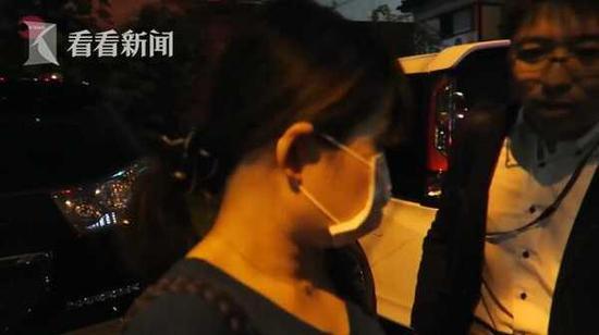 2016年10月接受采访时,久保木爱弓曾一度否认