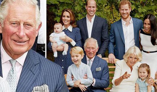克拉伦斯宫发布照片庆祝查尔斯王子70岁生日(克拉伦斯宫/Getty)
