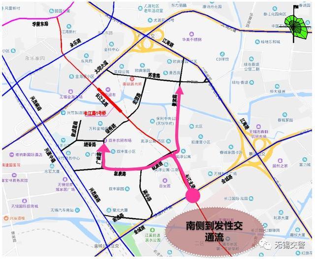 重要!长江北路部分路段因施工禁行半年!