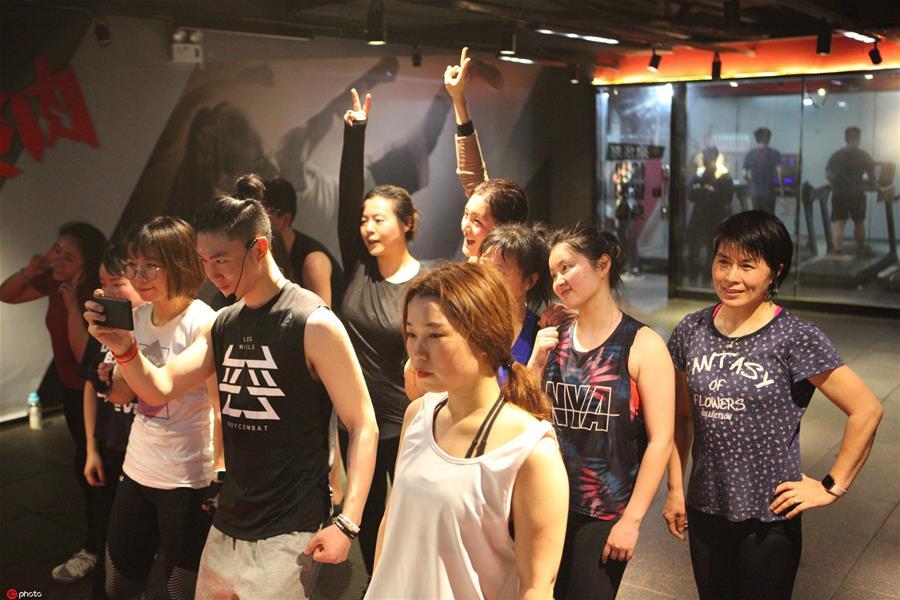 团课成为一种健身趋势来源:东方IC