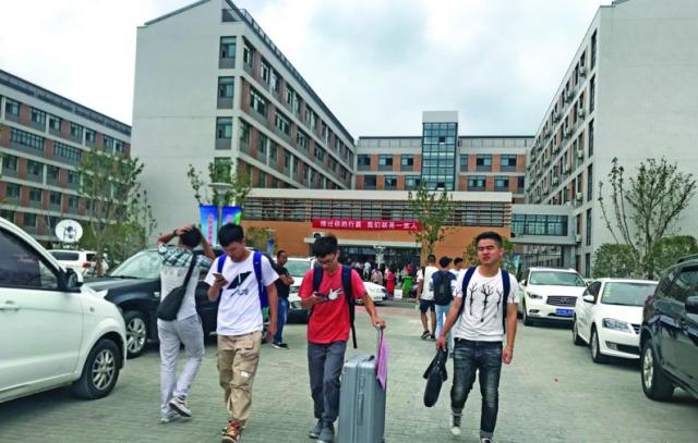 无锡第三所本科院校-滨江学院迎两千余名新生